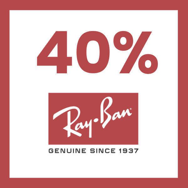 40% RayBan graduado